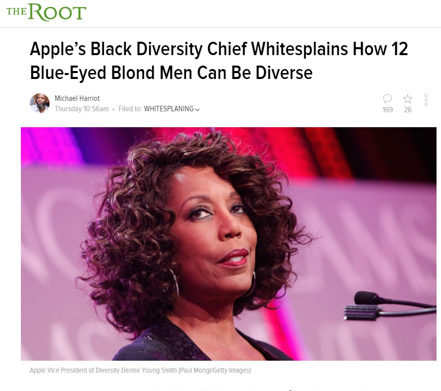 Apple Diversity Chief Apologizes For Saying White People Can Be Diverse