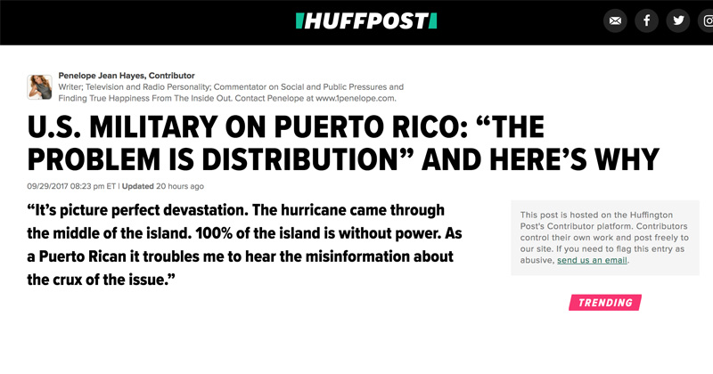 Bombshell: Dems/Teamsters Order Puerto Rican Stand-Down To Embarrass Trump