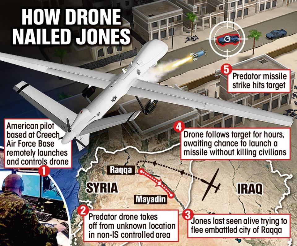 British Jihadi Sally Jones Killed by US Drone Strike Fleeing ISIS Hell
