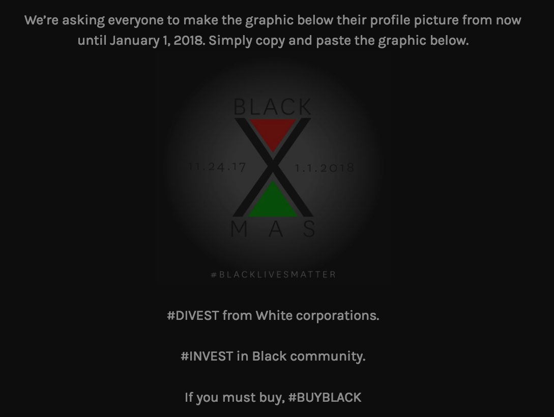Black Lives Matter To Boycott White Owned Businesses For 'Black Christmas'