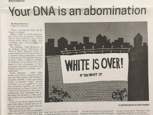 Video: Infowars Confronts Anti-White Newspaper