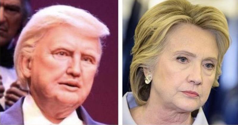 Disney Accused of Putting Trump Wig on Hillary Animatronic