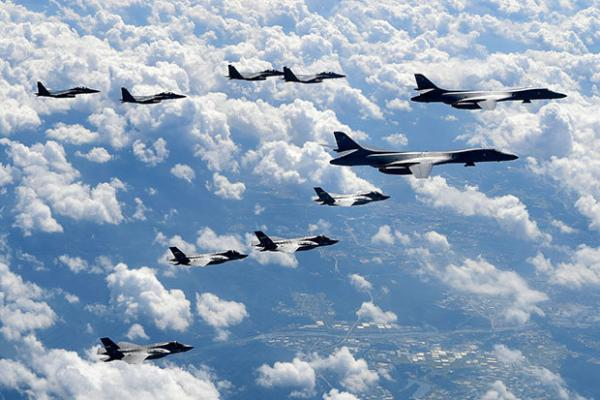 US Orders 'Largest-Ever' Military Drill To Simulate War With NKorea