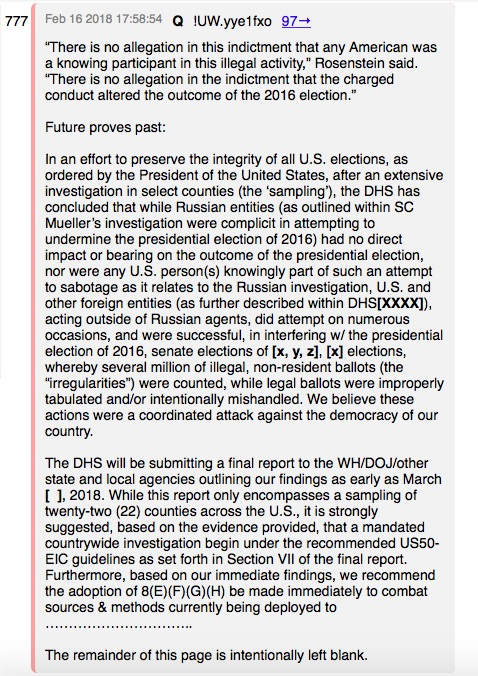 DHS to Publish Proof of Massive Dem Voter Fraud in 2016 - QAnon
