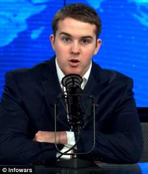 15-Year-Old Son of Infowars' Alex Jones Challenges Parkland Survivor David Hogg to a Debate Over Guns