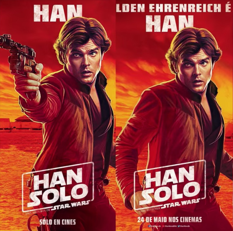Disney Eliminates Iconic Blasters in New Star Wars Movie Posters