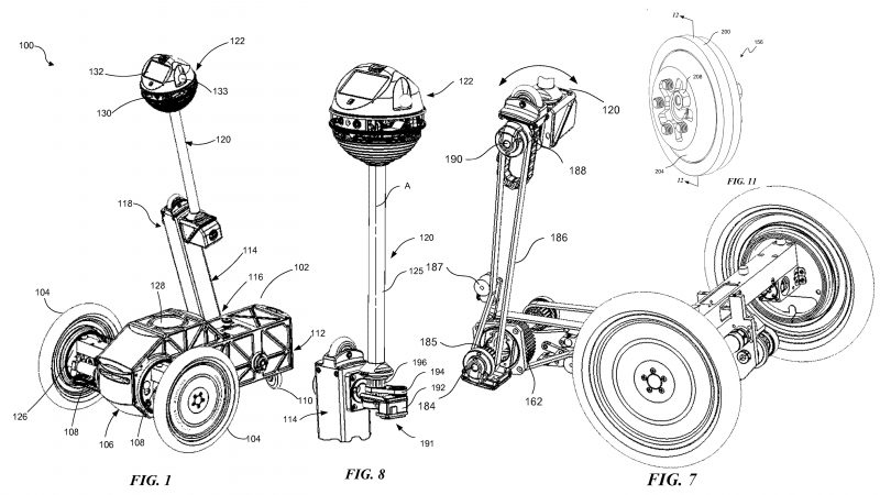 Facebook Patents Roaming Reconnaissance Robot