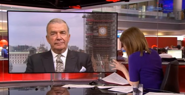 BBC Host Tells Former Navy Chief Not to Question Syria Narrative