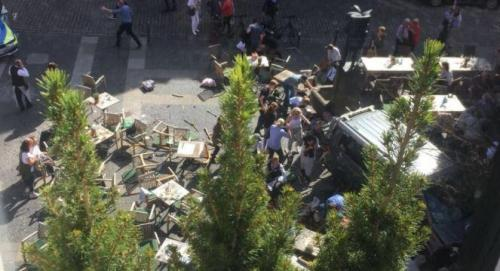 Car Rams Into Crowd in German City, At Least 3 Killed