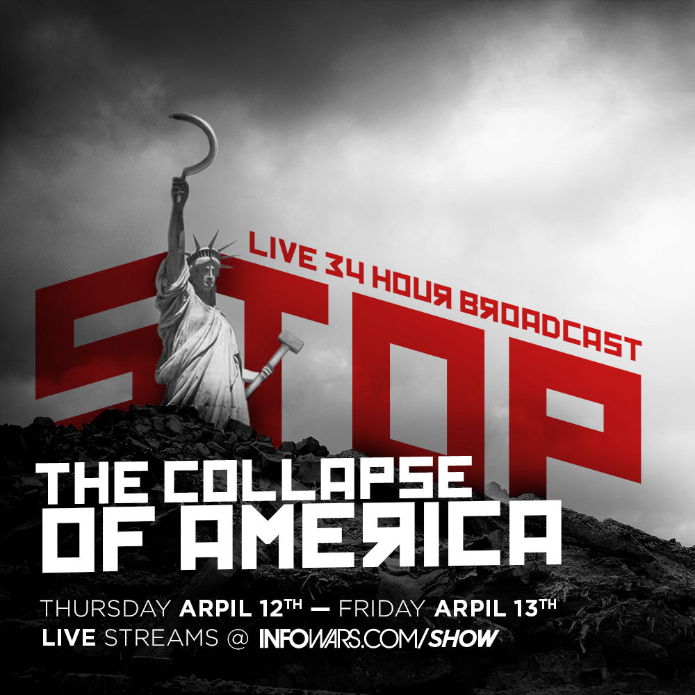 Stop The New World War Emergency Broadcast: Special 34-Hour Marathon