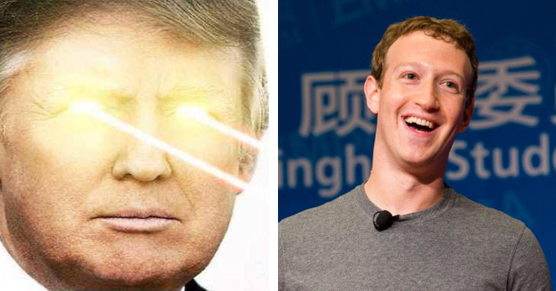Facebook Purges Pro-Trump Pages After Creator Criticized Zuckerberg