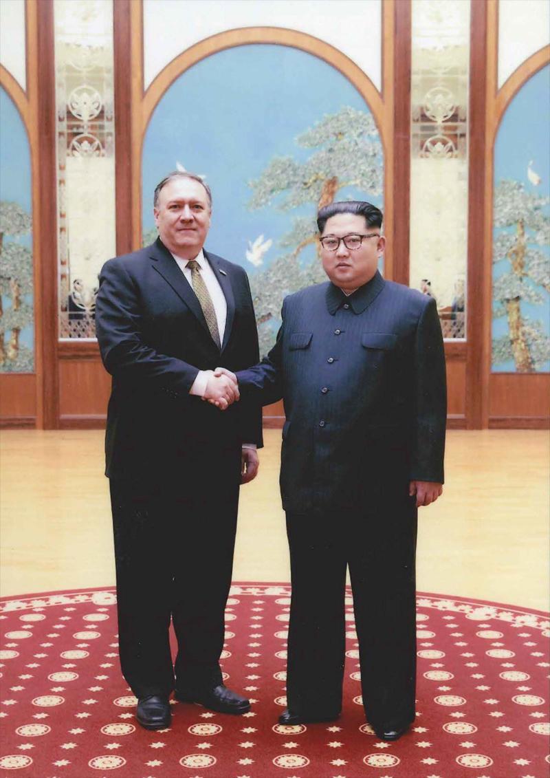 Photos: Mike Pompeo Meets Kim Jong Un