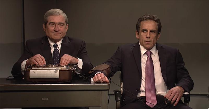 SNL: De Niro, Stiller Reprise 'Meet The Parents' as Bob Mueller and Michael Cohen