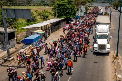 'No More DACA Deal' Trump Booms, 'Must Go Nuclear' As 'Refugee Caravan' Approaches