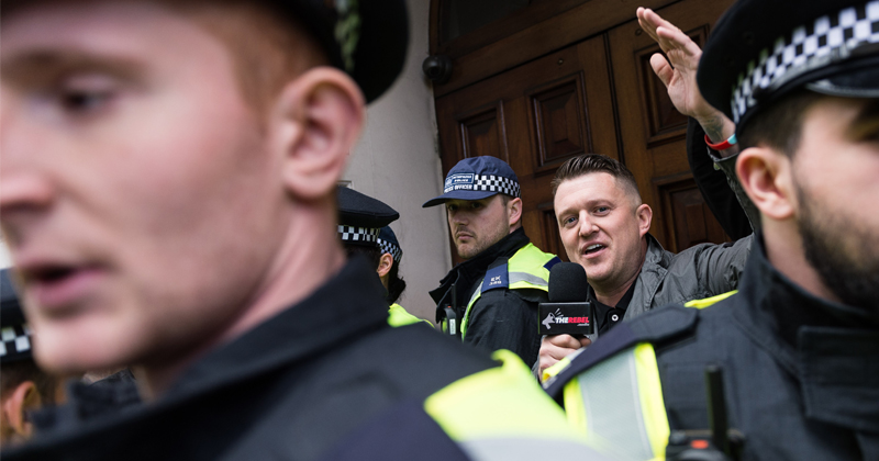 Tommy Robinson Still in Jail For Covering Muslim Pedophile Grooming Trial
