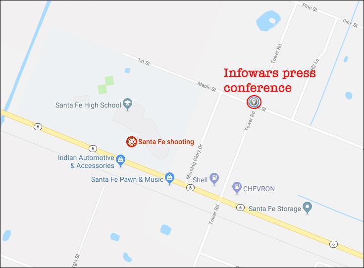 Infowars Reporter Owen Shroyer LIVE at the Santa Fe Shooting Vigil