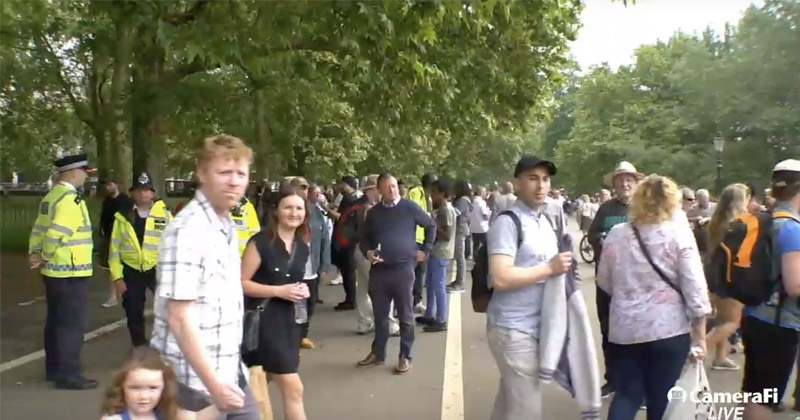 Watch: Tommy Robinson Supporters Protest at Speakers Corner