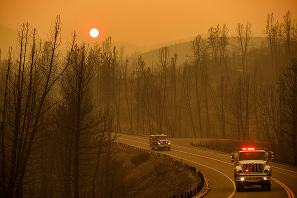 Hell on Earth: California Engulfed in Wildfires as Crews Battle Inferno