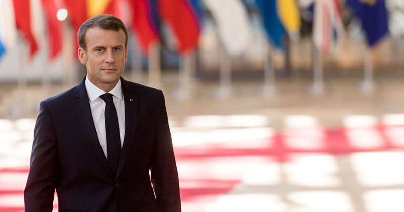 Macron Walks Back Mass Migration, Tells Migrants To 'Succeed' in Africa