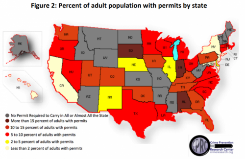 New Study Finds Explosion In Concealed Carry Permits, Especially Among Women