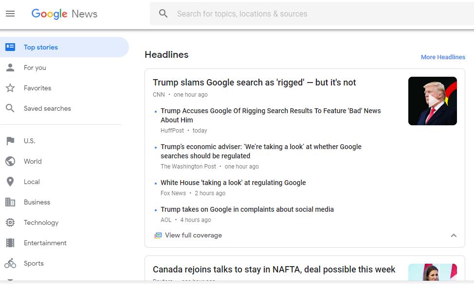 Google Isn't Rigged… Says Google and CNN