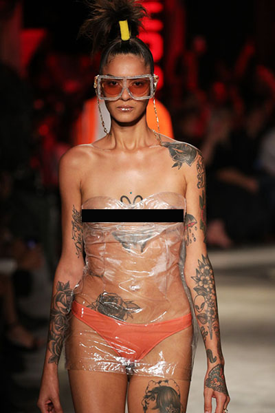 WTF: Models Show Off Three Breasts In Dystopian Fashion Show
