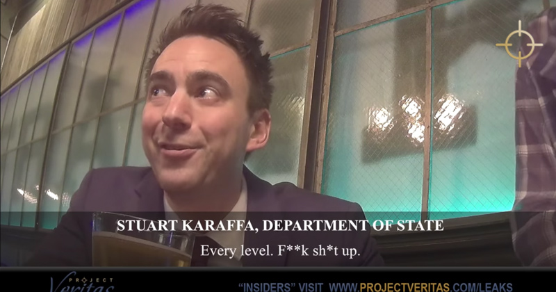 'Resist Everything': Project Veritas Unmasks Deep State Operative Working in State Dept.