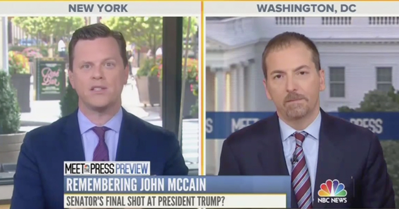 NBC Applauds 'Call to Arms' Against Trump at McCain Memorial Service