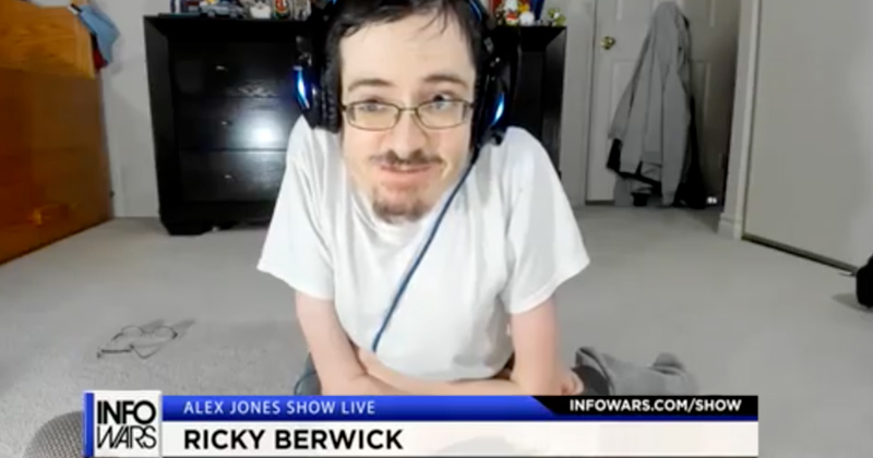 Ricky Berwick Hammers Away At Internet Censorship
