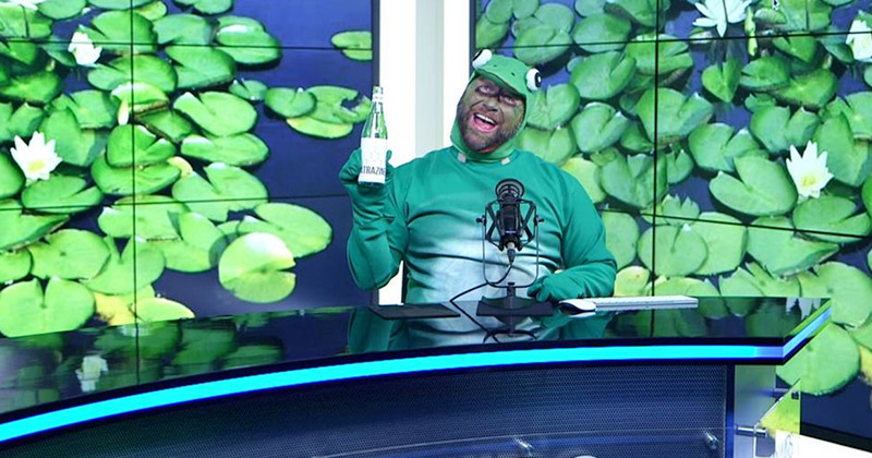 VIDEO: Alex Jones Comes Out Of The Closet As A Gay Frog