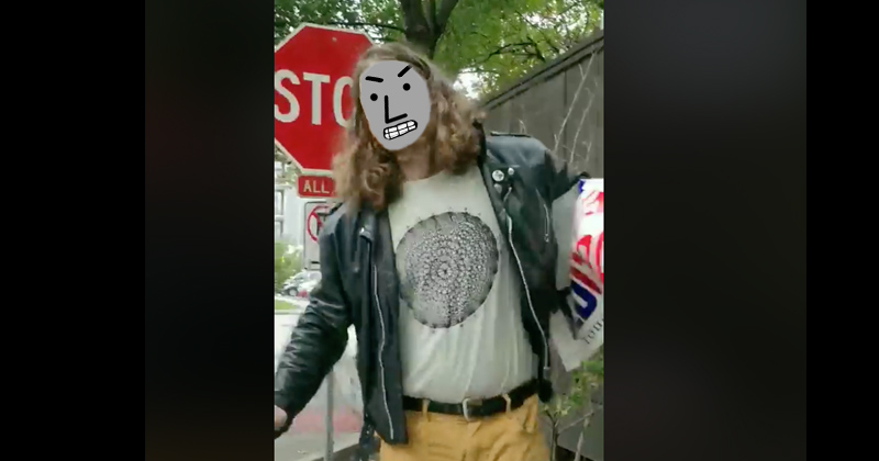Must Watch! Demon-Possessed NPC Destroys Ted Cruz Campaign Signs