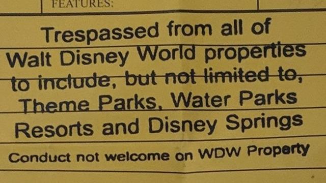 Disney World Bans Man Who Flashed Trump 2020 Sign