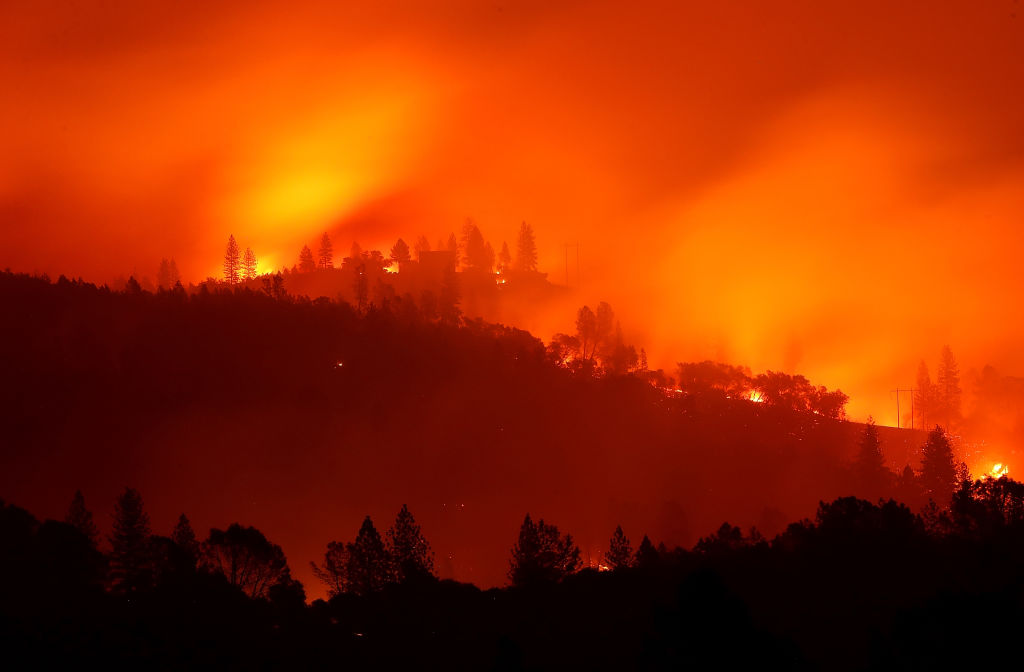 Paradise Lost: California Burns As Wildfires Devastate Region