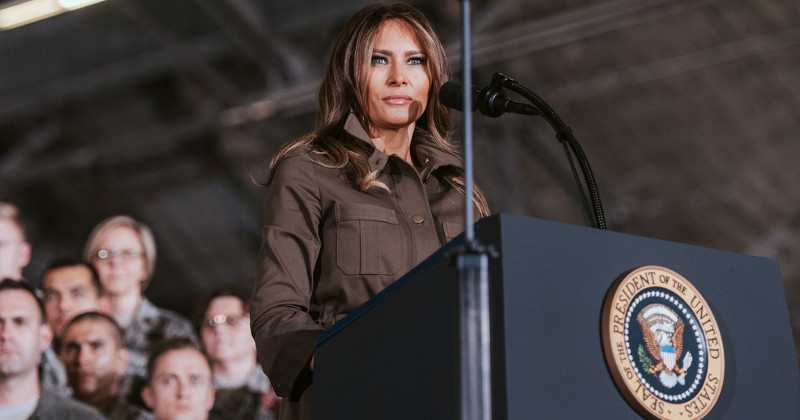 Outlets Bury Report That Melania Won Over The Booing Crowd At Opioid Summit