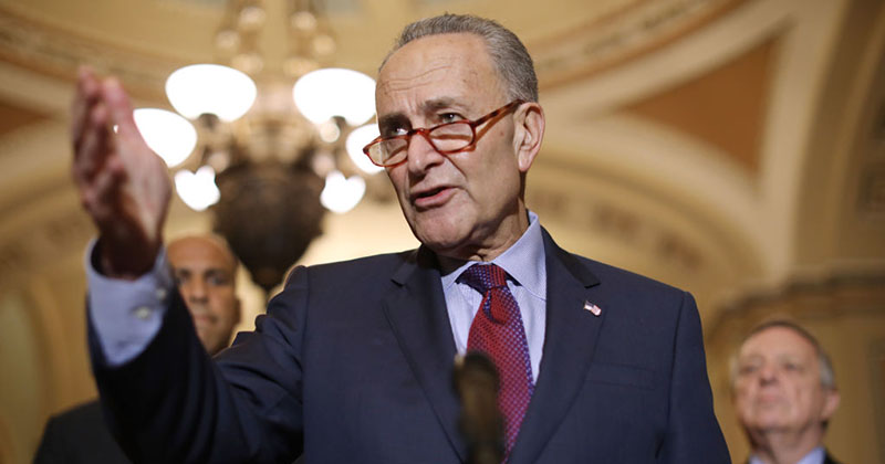 Schumer: 'We Are Going to Fight...to Let Everybody Vote – Everybody'
