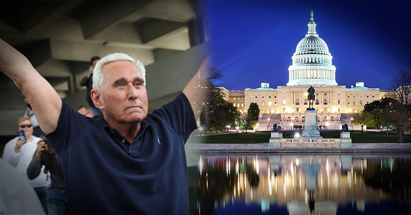 Watch Live: Roger Stone Holds Major Press Conference in DC: 'I Will Not Be Silenced'