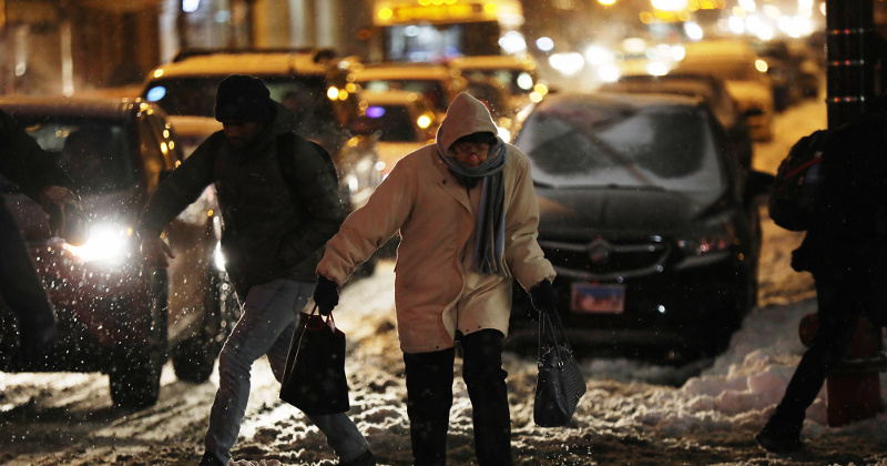 'Real Feel' Temps In Midwest Plunge to -75 F