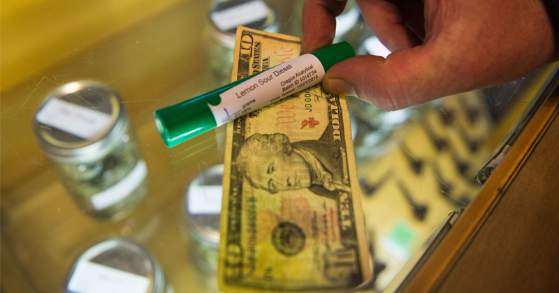 """Imminent Collapse"": Oregon's Pot Glut Drives Prices Even Lower"