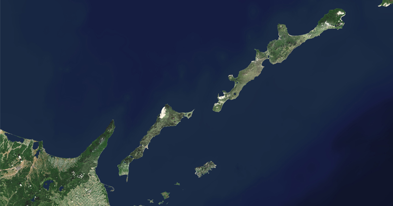 Japan, Russia Feud Over Contested Islands