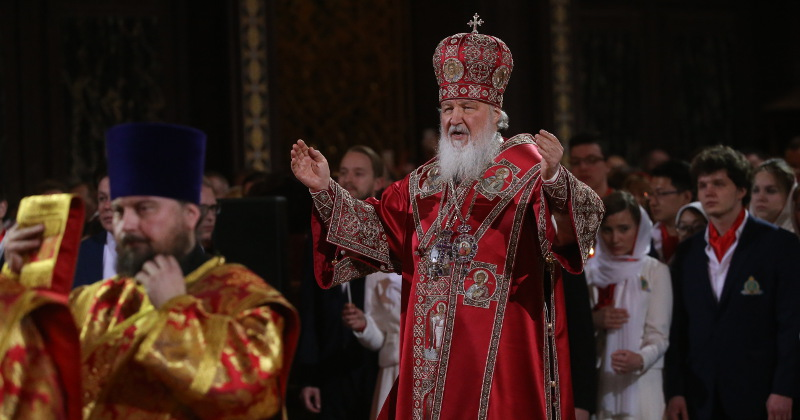 Russian Patriarch Warns 'Antichrist' Will Control Humans Through Gadgets