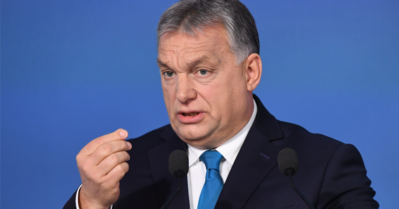 Hungary PM: Migration Europe's Defining Issue
