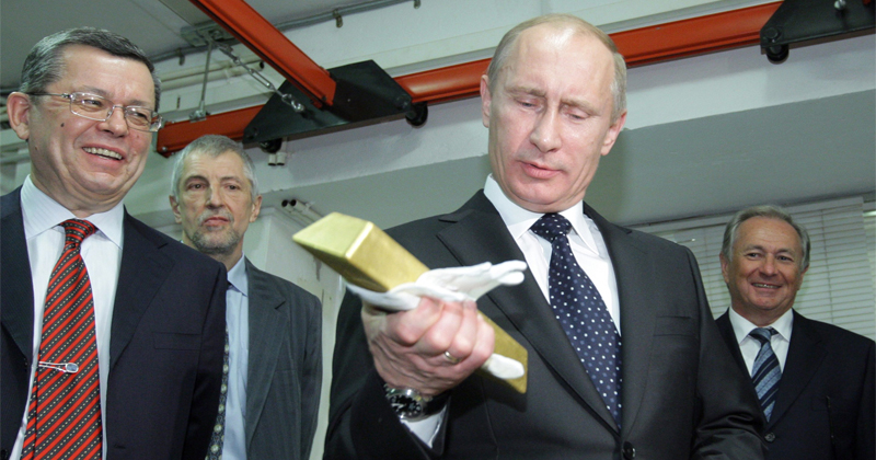 Russia Surpasses China in Gold Holdings