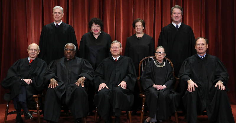 Ginsburg Misses SCOTUS Arguments For First Time Ever
