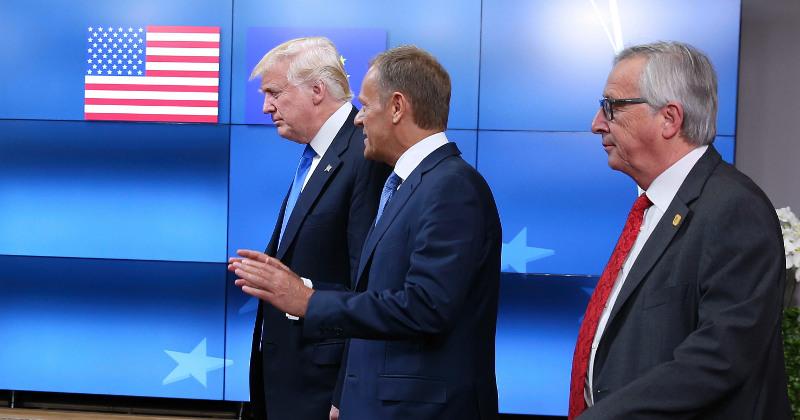 Trump Admin Downgrades Diplomatic Status of EU Officials