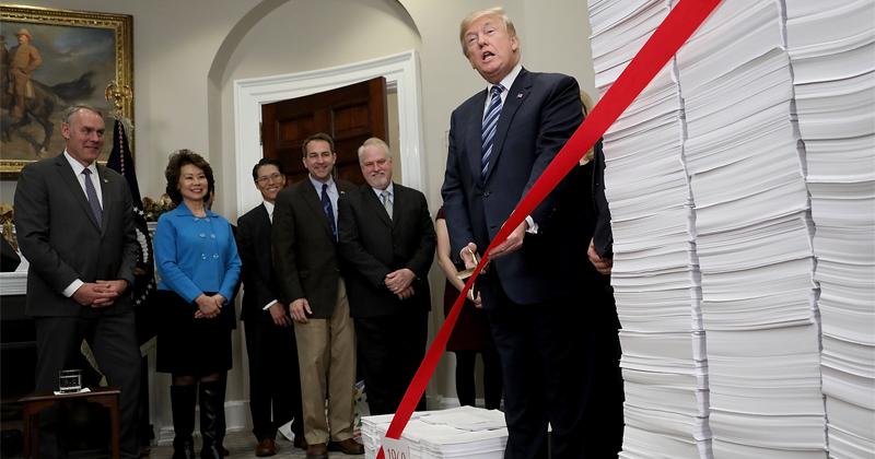 Federal Agencies Cut Over $16 Billion in Regulations in 2018