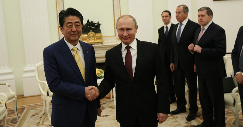 Russia, Japan Confirm Interest in Signing Peace Treaty - Putin