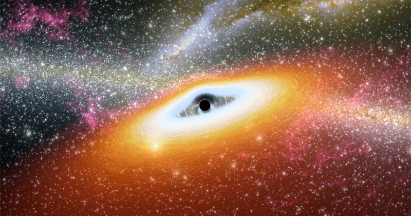 """Astronomers Map """"Light Echoes"""" of Black Hole"""