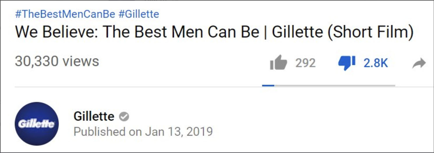 Gillette Ad Challenges Men to Shave Their 'Toxic Masculinity'