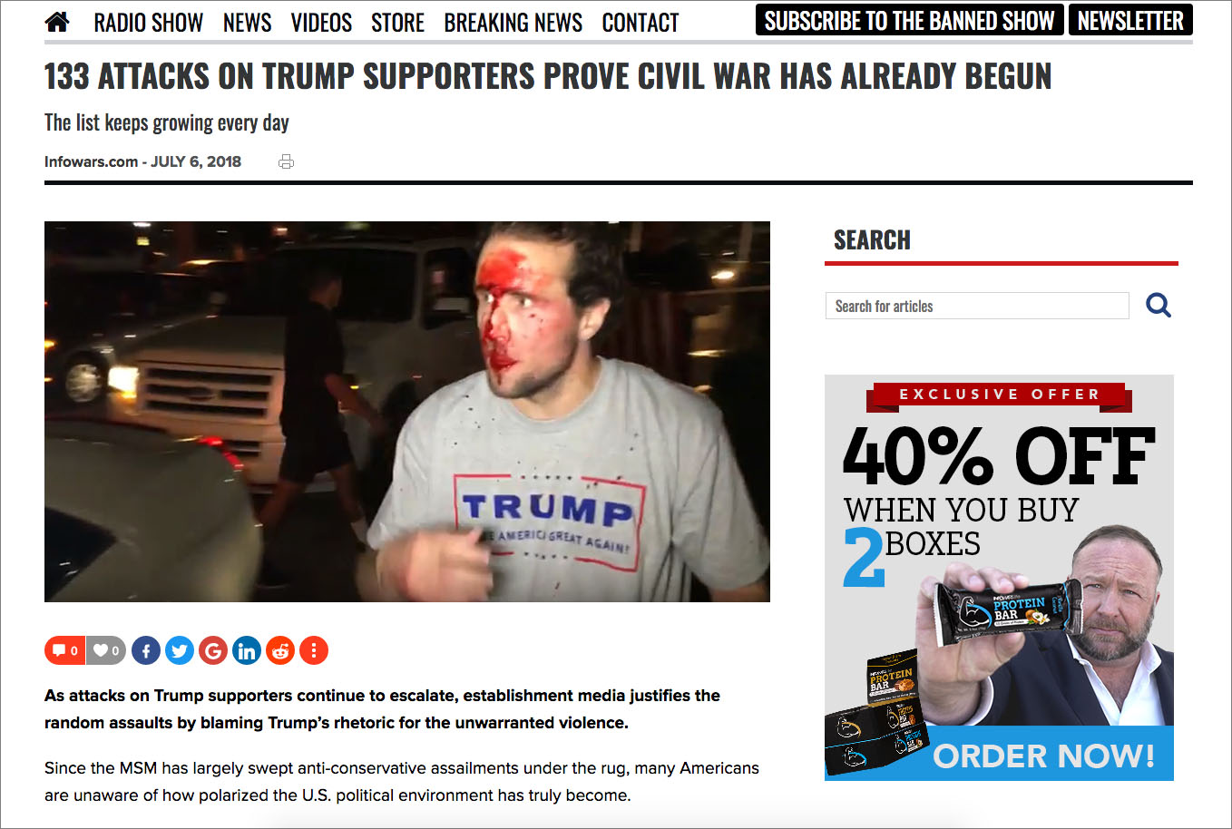 Update: Real Politically Motivated Hate Crime Caught On Camera?