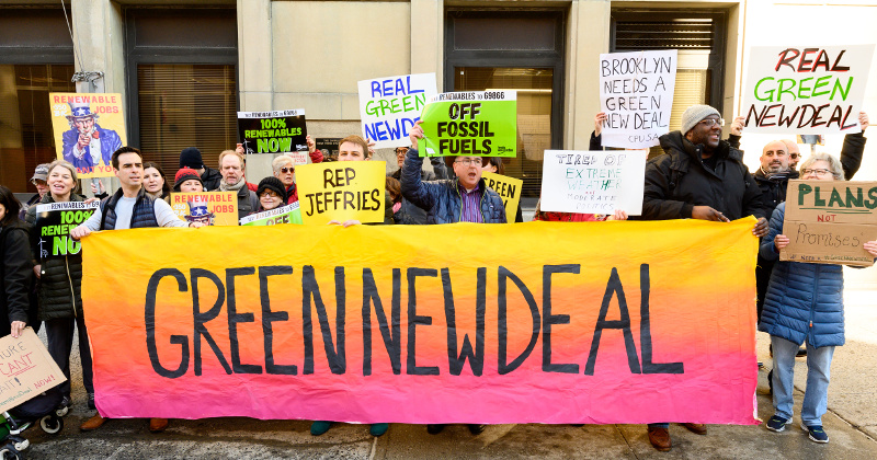 'Green New Deal' Details Revealed